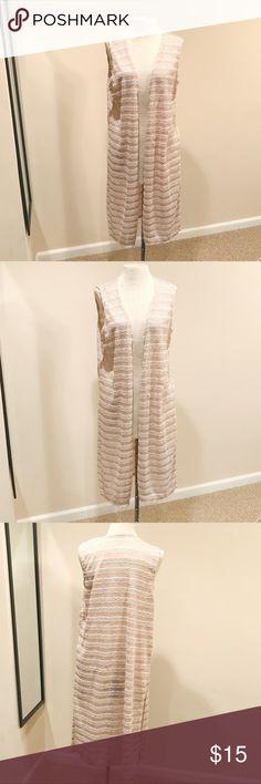 💛CUTE CARDI💛 Cardigan Vest. Super cute, worn once. Forever 21 Tops Tunics