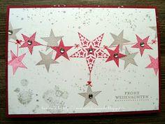 Stempelsets Simply Stars & Gorgeous Grunge (chilirot und flüstergrau)