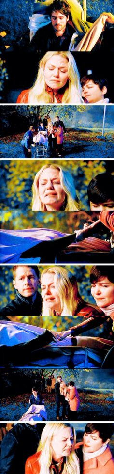 I've never cried this hard while watching Once Upon A Time. EVER. Then this scene happened and I lost it.