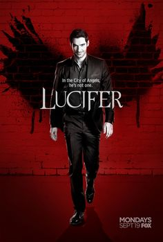 Tom Ellis is Lucifer in TV series. Moving to Netflix for Season Christian Grey, Christian Bale, Series Movies, Hd Movies, Movie Tv, Watch Movies, Film Serie, Lauren German, City Of Angels