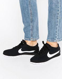 pretty nice e13bf 84376 Nike - Cortez Ultra Moire - Baskets perforées - Noir et blanc