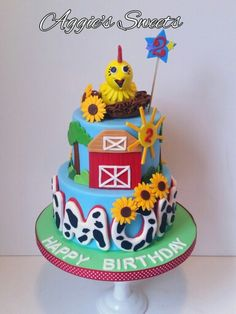 Chica from Sprout ~ Birthday Cake