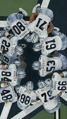 Huddle up, Cowboys!
