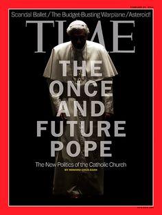 Time magazine featuring Pope Benedict XVI