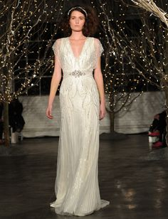 Jenny Packham's Spring 2014 Collection and 25th Anniversary Show from NY Bridal Fashion Market