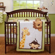 Jungle monkey nursery