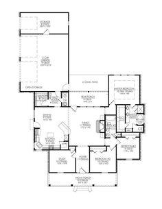 Retirement house plans on pinterest house plans floor for One story retirement house plans