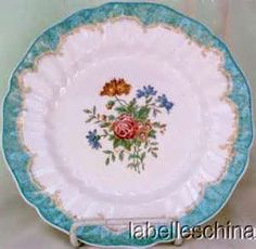 Royal Doulton Kingswood | My mother's everyday china when I was growing up.  All that is left is a small butter plate that I use for rings and earrings.