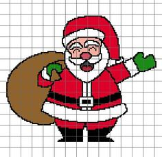 Santa Crochet Graph
