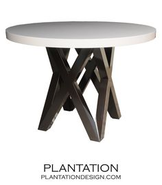 Forty Dining Table | Two-tone