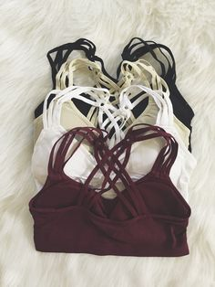 Woven Cage Back Bralette