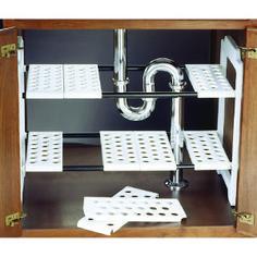 Home Interior Salas Kitchen Organization Cupboards Interior Salas Kitchen Organization Cupboards Under Sink Storage Unit, Small Kitchen Storage, Kitchen Shelves, Bathroom Storage, Diy Storage, Clever Storage Ideas, Under Sink Organization Bathroom, Laundry Storage, Paper Storage