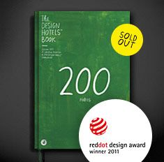 Design Hotels™ Books Collector's Edition 2011 | red dot award: communication design 2011