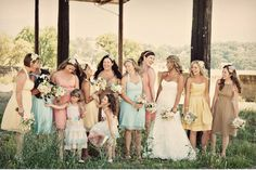 nice bridal party pic