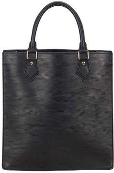 Louis Vuitton Plat leather handbag