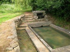 Lavoir d'Aigonnay dans les Deux-Sèvres en Poitou-Charennte