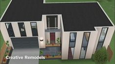 Casas The Sims Freeplay, Sims Freeplay Houses, Sims Free Play, Architect House, Sims 2, Minecraft, Shed, Outdoor Structures, Construction