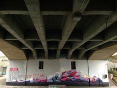 Ata Bozaci (Toast) – Lineares Boxing New Mural @ Zurich, Switzerland   Ozarts Etc