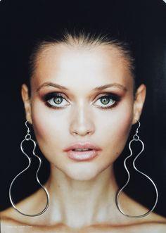 Sterling Silver Dangly Large Earrings. Statement, Designer Earrings, Avant- Garde, Shoulder duster earrings. Dusters, Designer Earrings, Sterling Silver Earrings, That Look, Jewelry Design, Jewellery, Handmade, Etsy, Jewels