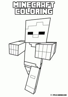 33 Best Minecraft Coloring Images Minecraft Coloring Pages Colors