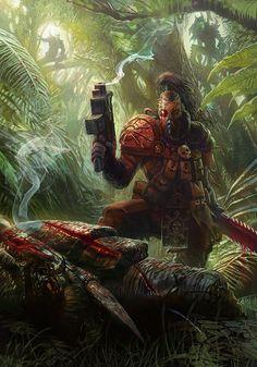 Hunters and Hunted by ~jubjubjedi on deviantART