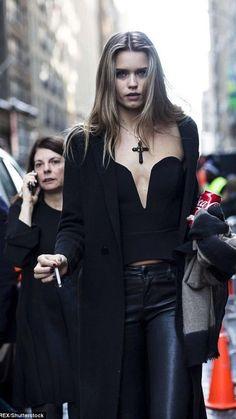 Abbey Lee Kershaw, Glam Rock, Runway Fashion, High Fashion, Fashion Outfits, Dark Fashion, Fashion Goth, Street Style New York, Look 2018