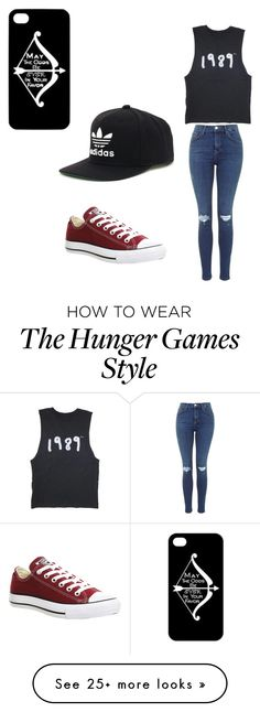 """""""Sin título #7"""" by laralafran on Polyvore featuring Converse and adidas"""