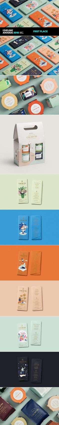 The Dieline Awards 2018: Cacao 70 — The Dieline | Packaging & Branding Design & Innovation News