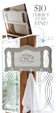Французской провинции изголовье, сделанное в идеальный Полотенцесушитель для гостей из признания серийного делать-оно-yourselfer