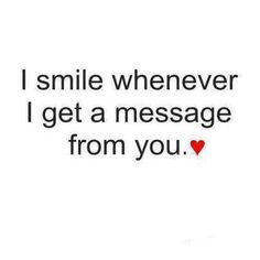Your messages always make me smile ❤