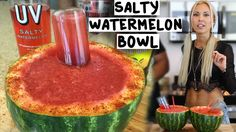 The Salty Watermelon Bowl - Tipsy Bartender