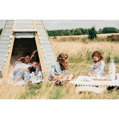 Buy Plum Products Great Wooden Teepee Hideaway Online at johnlewis.com