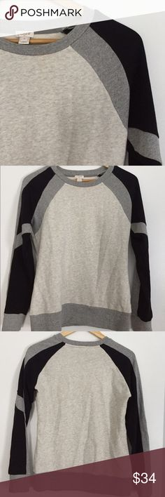 J.Crew Factory sweater Never worn! Cozy and soft, fun details on sleeves. J. Crew Factory Sweaters Crew & Scoop Necks