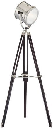 Industrial style will never be old-fashioned. Choose a tripod floor lamp with original shades and get a modern living room design. You'll be in love with this tripod floor lamp. We think it would look great in a bedroom.