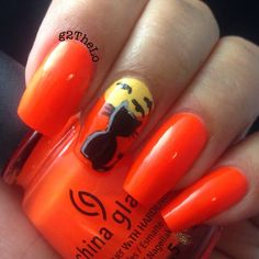Halloween by g2thelo #nail #nails #nailart