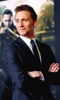 There's just something about a man in a well-tailored suit. And when that man happens to be Tom Hiddleston...well.