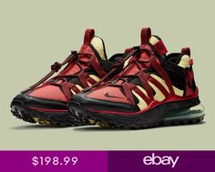 low priced ba6db e5273 Nike Mens Air Max 270 Bowfin NEW AUTHENTIC BlackBlackUniversity Re  AJ7200-003 Athletic Trends,