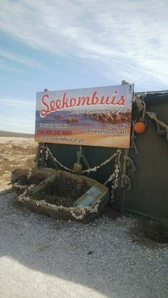Seekombuis restaurant in Paternoster - West Coast - South Africa. South Africa Beach, West Africa, North Beach, Beautiful Places To Visit, Places To See, North South East West, Vacation Checklist, Out Of Africa, Places Of Interest