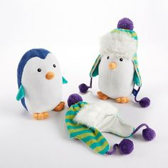 Adorable Plush Penguin and Hat for Baby by Baby Aspen ... Price: $28.99 ... Where to Buy: Alwaysfits.com ... ♥ the #giftdetectives