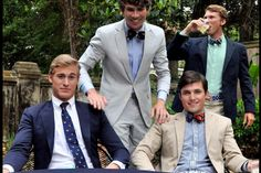 Bow ties & blaziers