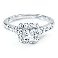 Mozart 1ct TW Diamond Engagement Ring in 18k Gold The Symphonies Collection from Helzberg Diamonds is amazing!