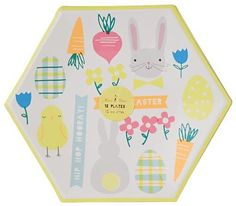 Easter Party Plates (Set of 12)