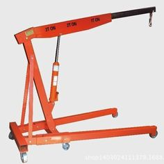 Promotion 3 T Thickening Car Folding Small Crane Engine Manual Hydraulic Crane Hanger Hanging Jack