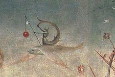 Zitiron- либо человек-рыцарь верхом на рыбе, или сливается с ее телом.