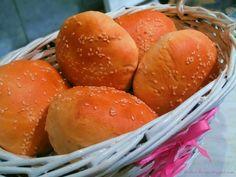 Bułeczki do Hamburgerów, Burgerów - Przepis - Słodka Strona