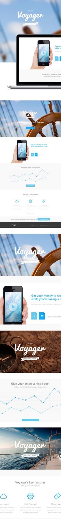 Voyager http://www.behance.net/gallery/Voyager/9372343