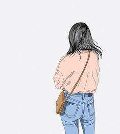 - girls in Anime/Art Cute Girl Wallpaper, Cute Wallpaper Backgrounds, Cartoon Wallpaper, Wallpapers, Girly Drawings, Cool Art Drawings, Cartoon Girl Drawing, Girl Cartoon, Cover Wattpad