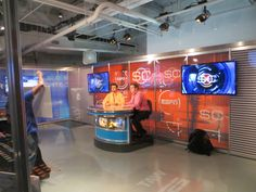 Become an ESPN Sportscenter anchor at #TWCStudios on 14th Street!