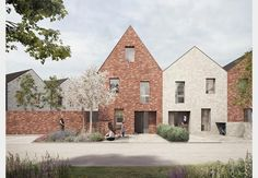 Bell Phillips unveils new style council homes | News | Building Design
