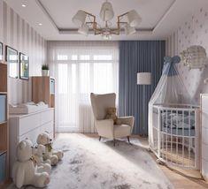 Beautiful Room for Baby! Baby Boy Room Decor, Baby Room Design, Baby Bedroom, Baby Boy Rooms, Nursery Design, Nursery Room, Room Decor Bedroom, Girls Bedroom, Girl Room